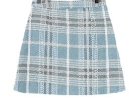 Lob Check Skirt