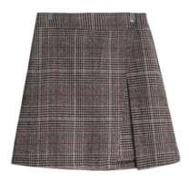 Check grooming skirt