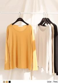 DIVE RAYON LOOSE FIT ROUND T