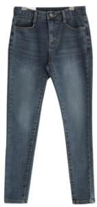 Flat Washing Brushed Denim Skinny