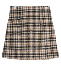 Selenium Hounds check skirt