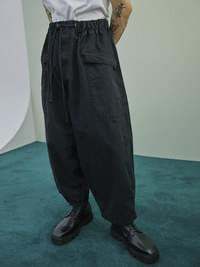 over-fit balloon pants - UNISEX