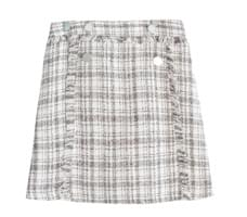 Tassle Tweed Skirt Pants
