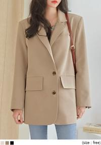 PIEL SINGLE TAILORED JACKET