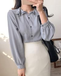 Lovely double colored blouse 3color