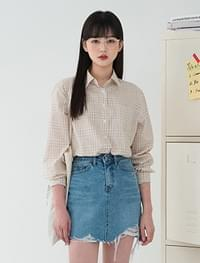 Classic Mood Check Cotton Shirt