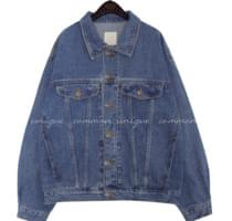 HADER BOXY DENIM JACKET