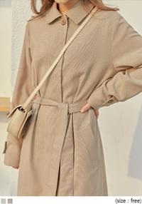 MALTY CHECK MAC TRENCH COAT