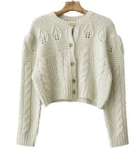 French vintage cardigan