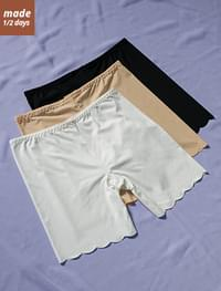Round Cutting Inner Pants-in