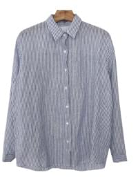 Self-made / French-striped shirt