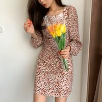 Egg Square Flower Dress