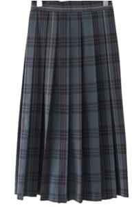 check 2-way skirt