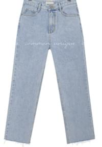 MONT CUTTING LIGHT DENIM PANTS