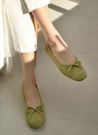 Green Tea Flat Shoes
