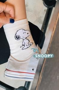 BASIC - Snoopy Socks