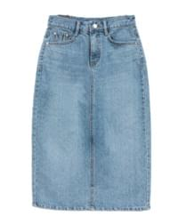 Rossi denim skirt