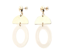 Coleen Round Earrings