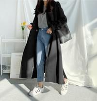 Awesome flat trench coat