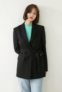 Anby Shoe Button Strap Jacket