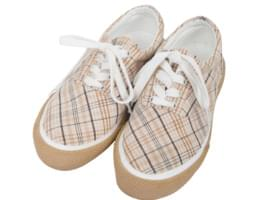 Vintage Check Sneakers