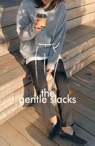 GENTLE SLACKS /ver.S/S Slim boots cut