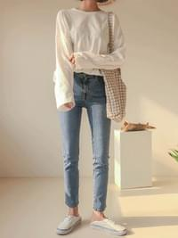 Slender Date Riyal Denim Pants