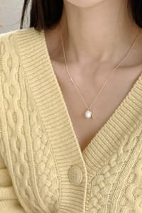 Cello Pearl Necklace