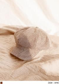 MASSING CHECK NEWSBOY CAP