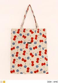 CHERRY CORDUROY COTTON BAG