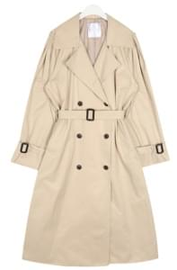 rose cape trench coat
