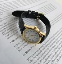 Gold One Leather Watch