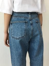 Den denim exhaust pants