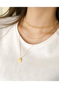 Practical perfect layered necklace SET