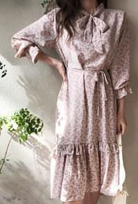 Soft Flower Pink Dress