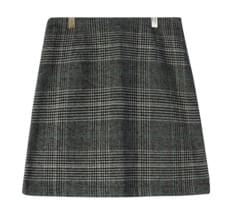 Muffin Hound Check Skirt