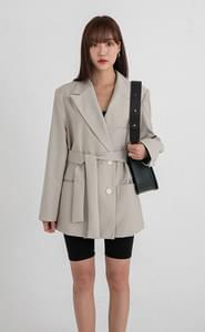 know double over fit jacket