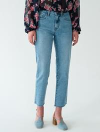 Cozy Slim Date Crop Jeans