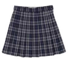check mini tennis skirt - woman