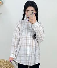 Large Check Long Sleeve NB