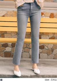 PINCH STRAIGHT DENIM PANTS
