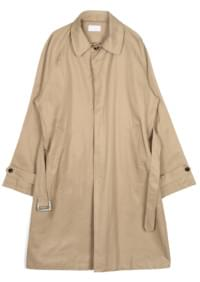 over-fit single trench coat - men