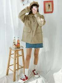 Cowhide Spring Cotton Jacket