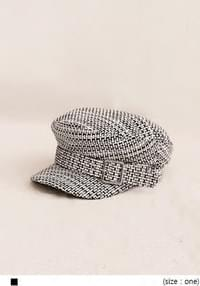 FLANO TWEED BELT HUNTING CAP