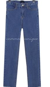 VIDE STRAIGHT DENIM PANTS