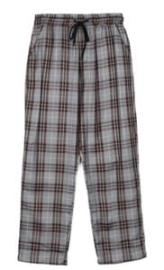 standard check banding pants - men パンツ