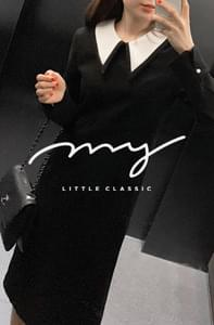 My-littleclassic / Mademoiselle-Big Kara Midi Dress