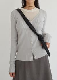 Pran lip cardigan
