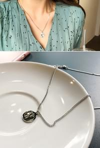 Bling Silver Necklace