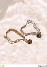 UNTIL UNBAL CHAIN BRACELET